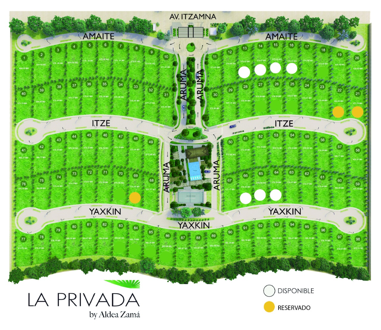 La Privada Aldea Zama Tulum, Private Residential Lots