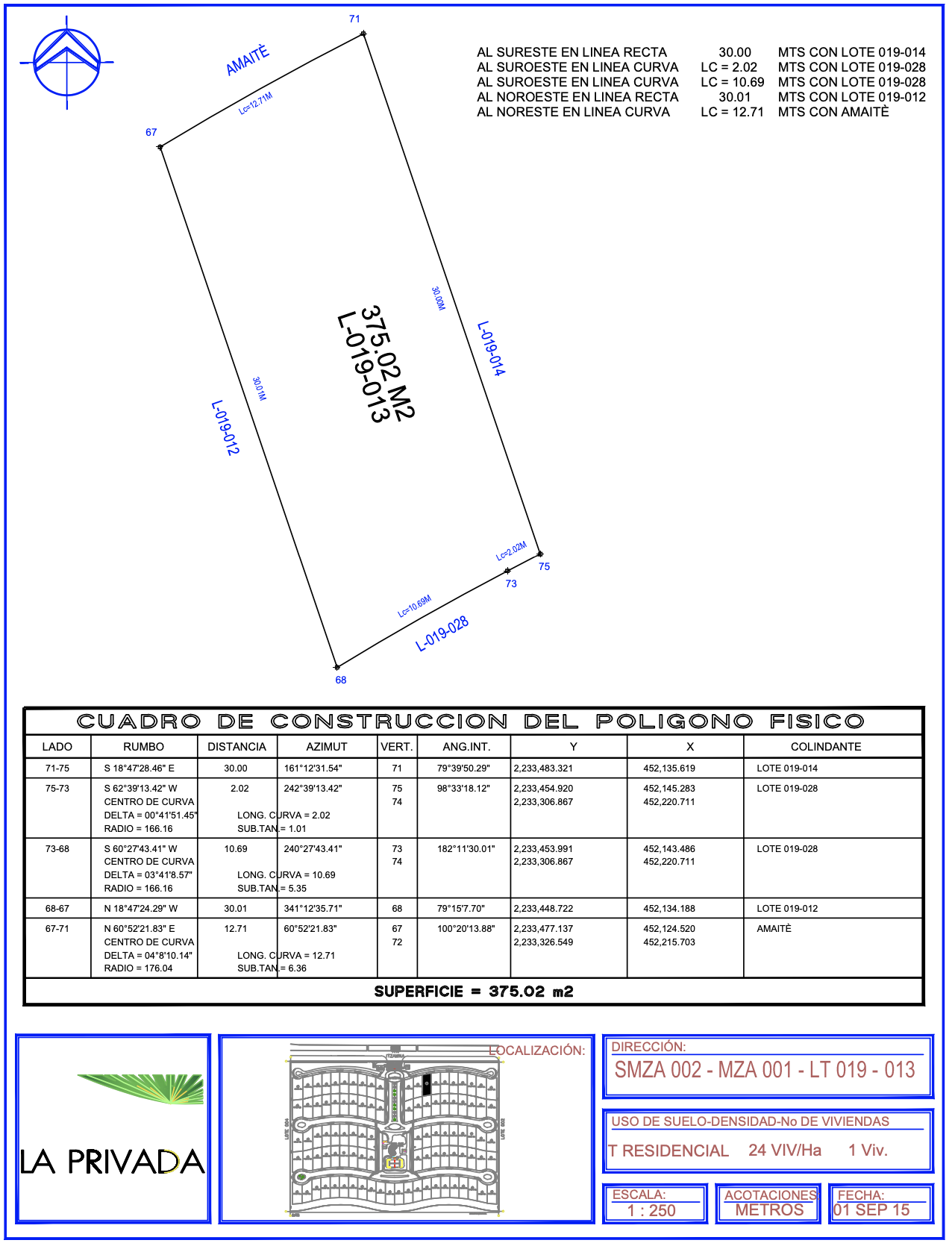 Floor Plan lot 13