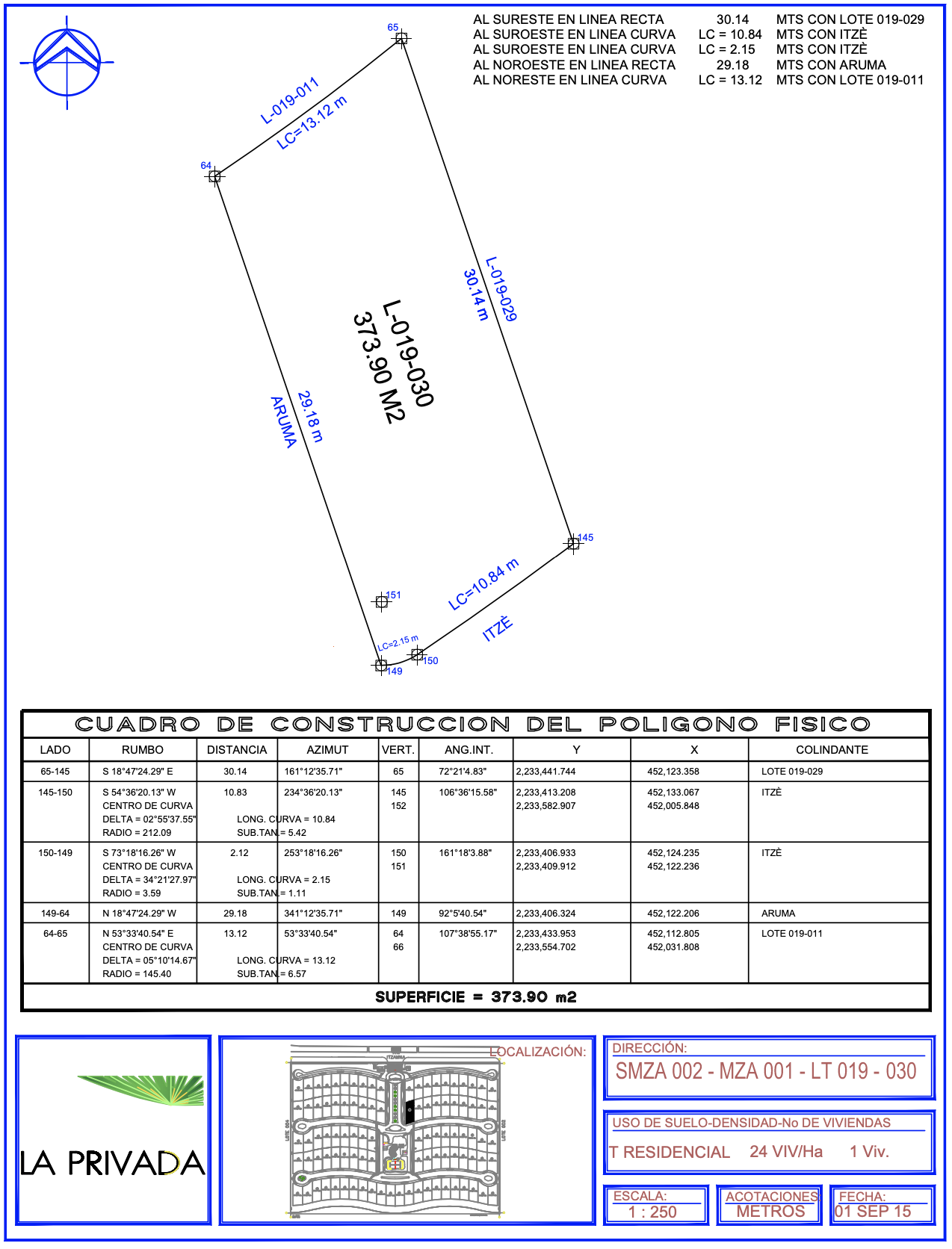 Floor Plan lot 30